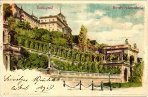 Budapest I. Királyi palota, Kunstanstalt Kosmos S. IX. (EK)