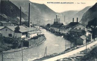La Léchére, Notre-Dame-de-Briancon; Les Usines / factory