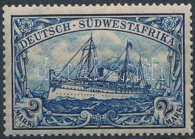 Deutsch-Südwestafrika 1906 Császári jacht Mi 30B