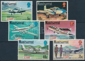 1971 Légi közlekedés sor Mi 267-272