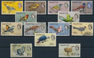 1965/1967 Madarak 13 érték Mi 268-280