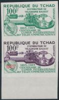 1965 Nemzetközi Telekommunikációs Unió színpróba vágott pár Mi.137