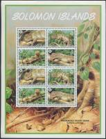2005 WWF: Hüllő kisív Mi 1282-1285