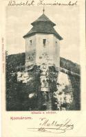Komárom, Komarno; Kőszűz a várban, kiadja Sipos Ferencz / castle