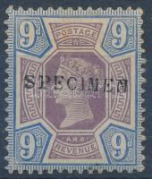 1887 Mi 95 SPECIMEN