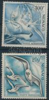 1955 Vízimadarak 2 érték Mi 502-503
