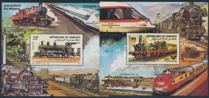 Vasút blokkpár Railway block pair