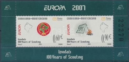 2007 Europa CEPT: Cserkész blokk Mi 6