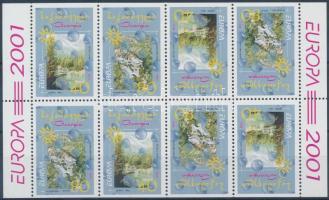 Europa CEPT stamp booklet sheets Europa CEPT bélyegfüzetlap ív