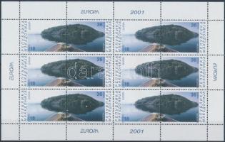 2001 Europa CEPT kisív Mi 228-229