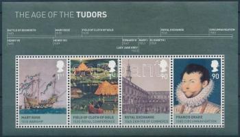 2009 Brit monarchia (II.) Tudor ház blokk Mi 50