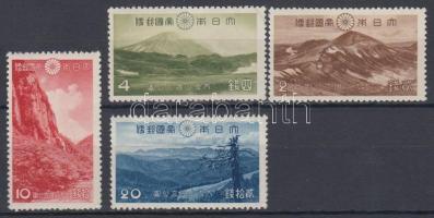 1940 Nemzeti park sor Mi 292-295