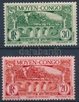 1933 Vonat 2 érték Mi 73, 75