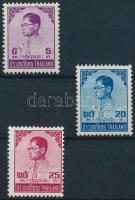 Definitive 3 stamps from set, Forgalmi sor 3 értéke