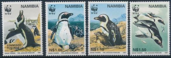1997 WWF: Pingvin sor Mi 837-840 + 4 FDC