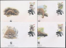 1994 WWF: Tobzoska sor Mi 795-798 4 db FDC-n
