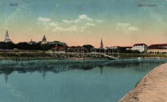 Arad, Maros részlet / river side (EK)