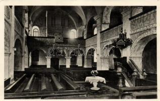 Odorheiu Secuiesc, church interior, Székelyudvarhely, Református templom