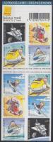 Children toys self-adhesive stamp booklet, Gyerekjáték öntapadós bélyegfüzet
