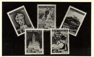 Hungarian commemorative stamps, 1938-1939 'Magyar a magyarért' Alkalmi bélyegsorozat, Marer Béla kiadása