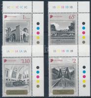 Historic railway corner set, Történelmi vasút ívsarki sor