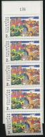 Campaign for further learning stamp booklet, Kampány a továbbtanulásért bélyegfüzet