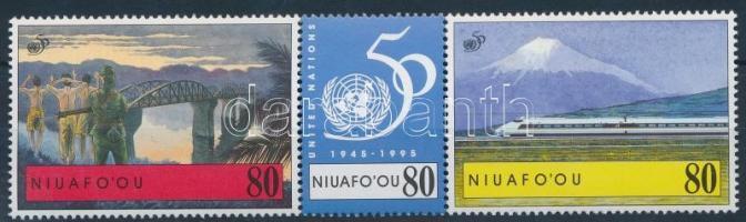 1995 UNO hármascsík Mi 296-298