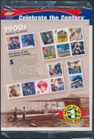 1998 20. század blokk Mi 40 eredeti bontatlan csomagolásban