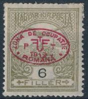 Debrecen I. 1919 Turul 6f Bodor vizsgálójellel (10.000)