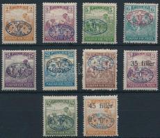 Debrecen I. 1919 10 klf Arató érték Bodor vizsgálójellel (25.700)