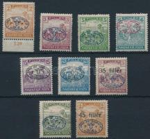 Debrecen I. 1919 9 klf Arató érték Bodor vizsgálójellel (13.700)