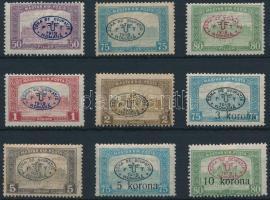 Debrecen I. 1919 9 klf Parlament érték Bodor vizsgálójellel (18.600)