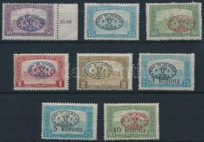 Debrecen I. 1919 8 klf Parlament érték Bodor vizsgálójellel (11.600)