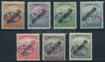 Debrecen I. 1919 7 klf Arató/Köztársaság érték Bodor vizsgálójellel (25.000)