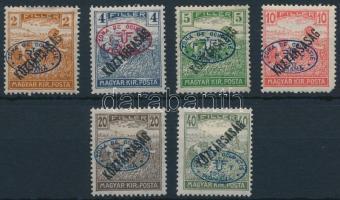 Debrecen I. 1919 6 klf Arató/Köztársaság érték Bodor vizsgálójellel (17.000) (10f sarokhiba / missing corner)
