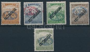 Debrecen I. 1919 5klf Arató/Köztársaság érték Bodor vizsgálójellel (8.000)
