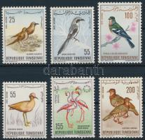 1965-1966 Birds 6 diff stamps 1965-1966 6 klf Madár bélyeg