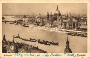 Budapest V. Országház, uszály