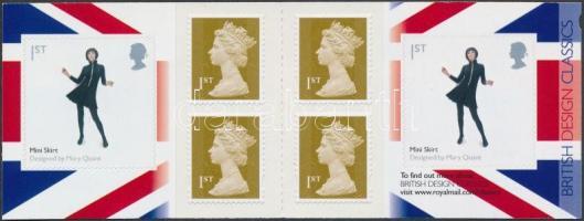2009 Brit design öntapadós bélyegfüzet MH 0-316 (Mi 2804)