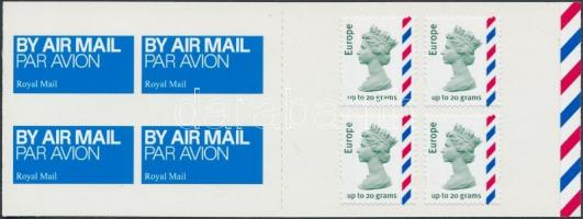 Queen Elizabeth II. self-adhesive stamp-booklet, II. Erzsébet királynő öntapadós bélyegfüzet