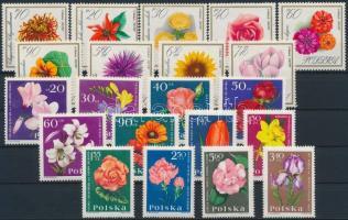 1957-1967 5 klf Virág sor 2 stecklapon