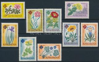 100 éves a botanikus kert sor, Centenary of Botanical Garden set