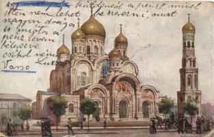 Warsaw, Warszawa; Cerkiew na Placu Saskim / church s: T. Cieslewski
