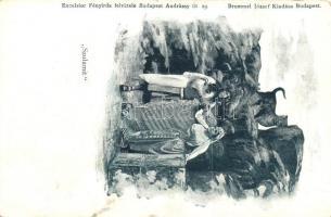 Hungarian theatre play, Szulamit előadás, Excelsior Fényirda felvétele, kiadja Brummel József