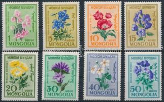 1960-1973 4 db Virág sor 2 stecklapon