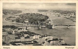 Budapest, kilátás a Margitszigetre, Margithíd