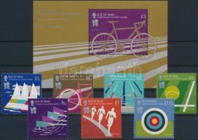 2012 Nyári Olimpia, London sir Mi 1743-1749 + blokk 82
