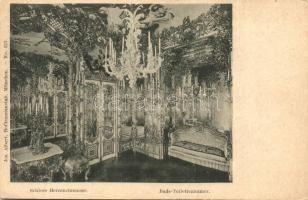 Herrenchiemsee, Schloss, Bade-Toiletzimmer / castle, bathroom, interior