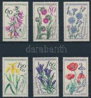 1964 Virág sor Mi 1471-1476
