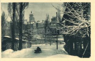 Briancon, Eglise / church in winter